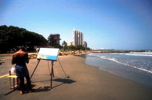 Cartagena beach (Colombia)
