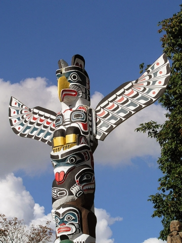 Totems Stanley Park